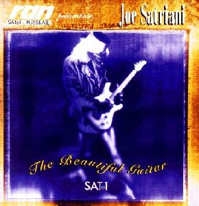 Joe Satriani The Beautiful Guitar album cover
