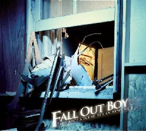 Fall Out Boy - This ain t a scene it s an arms race album cover