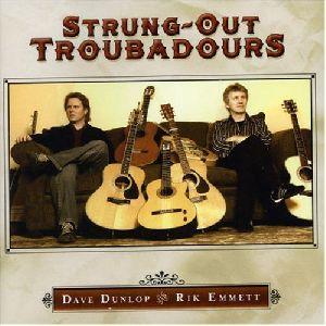 Rik Emmett - Strung out Troubadours album cover
