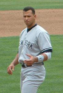 Athlete Baseball player Alex Rodriguez pictures, NYY uniform, walking