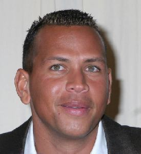 Athlete Baseball player Alex Rodriguez pictures Signs Copies of His New Book Out of The Ballpark