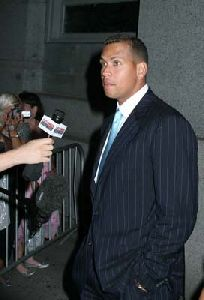 Athlete Baseball player Alex Rodriguez pictures at Cipriani Wall Street