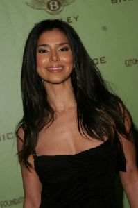 Actress Roselyn Sanchez pictures at the12th Annual Elton John AIDS Foundation Oscar Party Co-hosted