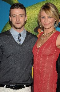 Actress  Cameron Diaz Pictures At �Shrek the Third� Premiere In Madrid