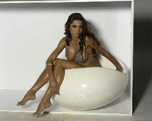 Sexy Eva Horvath bikini picture/pic