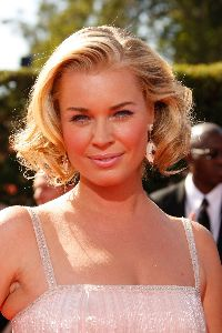 Rebecca Romijn photos at the 59th Annual Emmy Awards