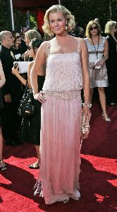Rebecca Romijn pictures at the 59th Annual Emmy Awards