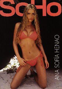 Sexy Ana Sofia Henao pictures at Soho magazine