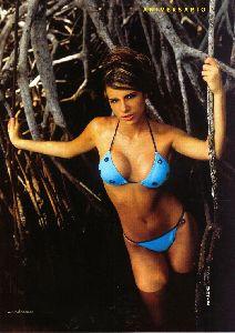Sexy Ana Sofia Henao bikini pictures at Soho magazine