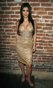 Sexy Kim Kardashian picture celebrated her 27th Birthday at Les Deux in Hollywood