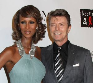 David Bowie pictures at Black Ball Concert for Keep A Child Alive
