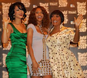 Rihanna and Ciara pictures at  2007 World Music Award held in Monte Carlo, Monaco