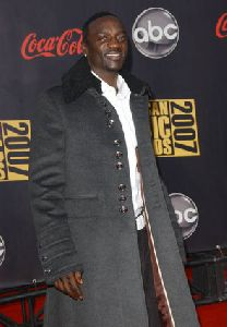 Akon pictures at 2007 American Music Awards