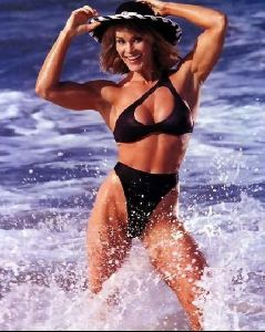 cory everson in the ocean