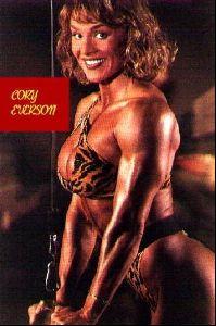 cory everson : 77
