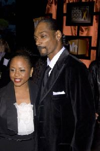 Snoop Dogg : Shante Taylor and Snoop Dogg- 13th Annual Critics Choice Awards11