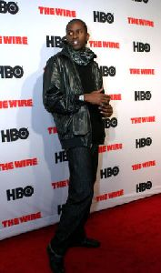 Anwan Glover : Anwan Glover- HBO s  The Wire  - New York Premiere0
