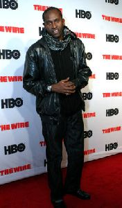Anwan Glover : Anwan Glover- HBO s  The Wire  - New York Premiere1