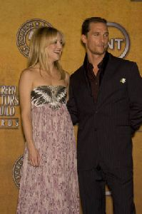 Kate Hudson : Kate Hudson and Matthew McConaughey- 14th Annual Screen Actors Guild Awards1