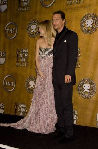 Kate Hudson : Kate Hudson and Matthew McConaughey- 14th Annual Screen Actors Guild Awards2