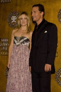 Kate Hudson : Kate Hudson and Matthew McConaughey- 14th Annual Screen Actors Guild Awards5