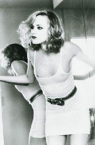Evan Rachel Wood black and white picture