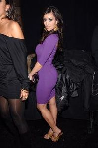 Kim Kardashian at Ritual Nightclub on August 10th 2007