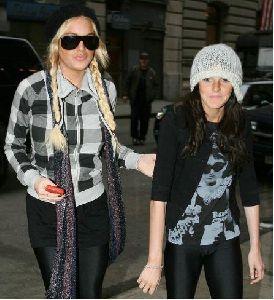 Lindsay Lohan and her sister Ali Lohan