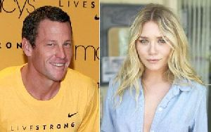 Lance Armstrong : ashley-olsen-and-lance-armstrong 445x280