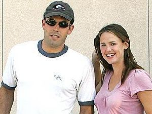 Ben Affleck with his wife Jennifer Garner