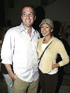 Ben Affleck with Eva mendes