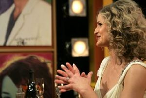 Kyra Sedgwick : Kyra Sedgwick 64th Annual Golden Globe Awards Backstage 003 2