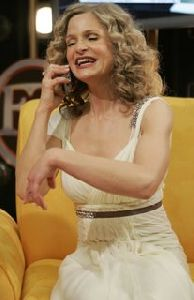 Kyra Sedgwick : Kyra Sedgwick 64th Annual Golden Globe Awards Backstage 002 2