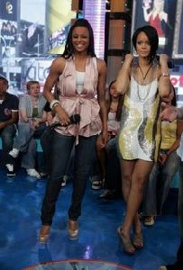 Rihanna and Ciara