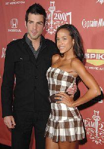 Zachary Quinto and Dania Ramirez