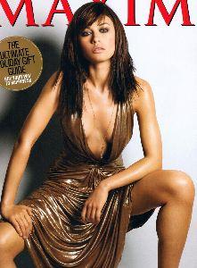 Olga Kurylenko : Maxim Magazine cover December - 2008