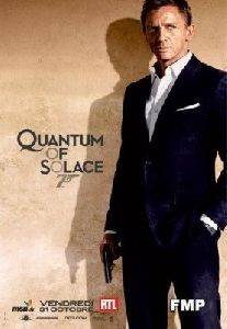 Olga Kurylenko : Quantum of Solace promotional advertisement