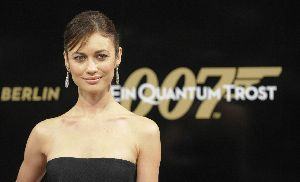 Olga Kurylenko : Berlin Premiere of James Bond movie 2008