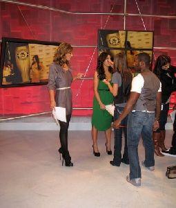 kim kardashian at dancing with the stars on November 7th 2008