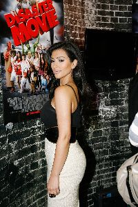 Kim Kardashian attends the Diaster Movie Talent Signing at Comic Con on July 26th, 2007