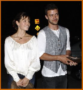 Justin Timberlake : Jessica Biel And Justin at nightclub Kress in Hollywood1 487b4fac68a75