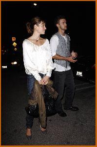 Justin Timberlake : Jessica Biel And Justin at nightclub Kress in Hollywood2 487b4fac6a9ae