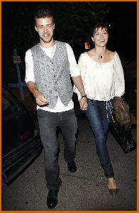 Justin Timberlake : Jessica Biel And Justin at nightclub Kress in Hollywood5 487b4fac7078d