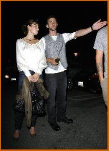Justin Timberlake : Jessica Biel And Justin at nightclub Kress in Hollywood7 487b4fac74a09