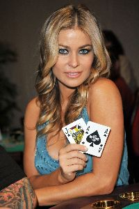 Carmen Electra : Carmen Electra   Celebrities attend the debut of Blackjack at the Seminole Hard Rock16 48650db2c6288