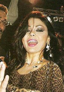 Haifa Wehbe : haifa at hani shaker son wedding