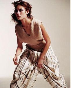 Olga Kurylenko : Olga Kurylenko modeling for clothes