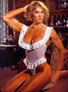 Cory Everson : cory everson picture in white underwears