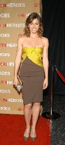 Jessica Biel : arrival to the CNN Heroes premiere - at Hollywood, California 2008 November
