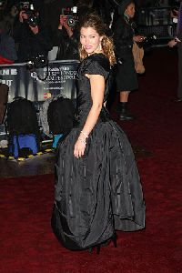 Jessica Biel : Oct. 2008 - on the red carpet of the Times BFI London Film Festival